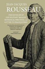 Collected Writings of Rousseau :
