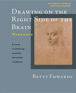 Drawing on the Right Side of the Brain Workbook : The Definitive, Updated 2nd Edition - Betty Edwards