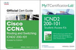 Cisco CCNA R&S ICND2 200-101 Official Cert Guide Wth MyITCertificationLab Bundle - Wendell Odom