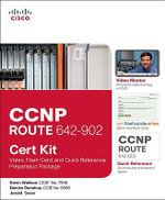 CCNP ROUTE 642-902 Cert Kit : Video, Flash Card, and Quick Reference Preparation Package - Kevin Wallace