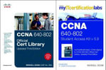 CCNA MyITCertificationLab 640-802 Official Cert Library Bundle V5.9 - Wendell Odom