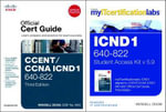 CCENT/CCNA ICND1 640-802 Official Cert Guide with MyITCertificationLab Bundle V5.9 - Wendell Odom