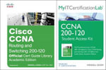 Cisco CCNA Routing and Switching 200-120, MyITCertificationLab Library Bundle - Wendell Odom