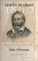 Leaves of Grass, 1860 : Iowa Whitman Ser. - Walt Whitman