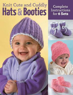 Knit Cute and Cuddly Hats and Booties : Complete Instructions for 6 Sets - Edie Eckman
