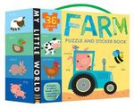 Farm Puzzle and Sticker Book Set : My Little World