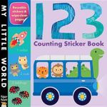 123 Counting Sticker Book - Jonathan Litton