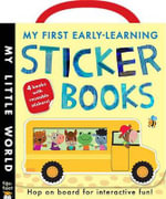 My First Early-Learning Sticker Books - Jonathan Litton