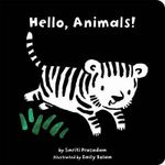 Hello, Animals! : Black and White Sparklers - Smriti Prasadam