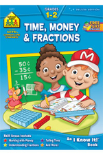 Time, Money & Fractions Grades 1-2 - Barbara, Ph.D. Bando Irvin