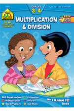 Multiplication & Division Grades 3-4 - Barbara Bando, Ph.D. Irvin