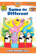 Same Or Different : Ages 4-6 - Barbara Gregorich
