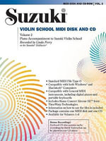 Suzuki Violin School, Vol 2 : General MIDI Disk CD-ROM - Linda Perry