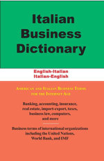 Italian Business Dictionary - Morry Sofer