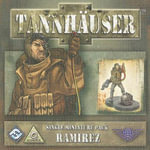 Tannhauser Single Miniature Pack : Ramirez [With Character Sheet, 18 Game Tokens, 8-Page Rulebook] - Fantasy Flight Games
