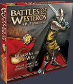 Battles of Westeros: Wardens of the West : House Lanister Reinforcement Set - Fantasy Flight Games