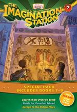 The Imagination Station Special Pack, Books 7-9 : Secret of the Prince's Tomb/Battle for Cannibal Island/Escape to the Hiding Place - Wayne Thomas Batson