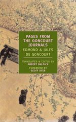Pages from the Goncourt Journals : New York Review Books Classics - Edmond de Goncourt