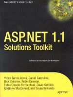 ASP.NET 1.1 Solutions Toolkit - Victor G Aprea