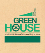 Green House : Eco-Friendly Disposal and Recycling at Home - Norm Crampton