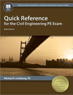 Quick Reference for the Civil Engineering PE Exam - Michael R Lindeburg