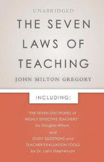 The Seven Laws of Teaching - John Milton Gregory