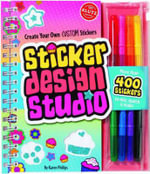 Sticker Design Studio : Create Your Own Custom Stickers : Klutz Series - Klutz Editors