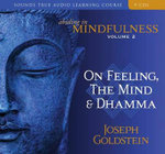 Abiding in Mindfulness : On Feeling, the Mind and Dhamma with Book - Volume 2  - Joseph Goldstein