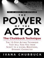 The Power of the Actor : The Chubbuck Technique - Ivana Chubbuck