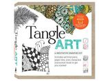 Tangle Art: A Meditative Drawing Kit : Includes Archival Pens, Paper Tiles, and a Beautiful Instruction Book to Get You Started! - Beckah Krahula