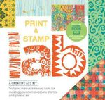 Print and Stamp Lab Kit : A Creative Kit for Making Your Own Stamps - Includes 32-Page Book with Instructions for Making Your Own Awesome Stamps - Traci Bunkers