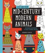 Just Add Color : Mid-Century Modern Animals : 30 Original Illustrations to Color, Customize, and Hang - Jenn Ski