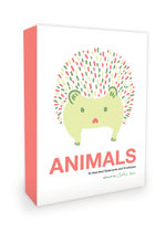 Animals Notecards Artwork by Julia Kuo : 16 Assorted Note Cards and Envelopes - Julia Kuo