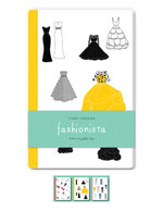 Fashionista Blank Notebooks : Set of Three 48-Page Blank Notebooks - Editors of Quarry Books