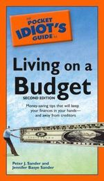 Pocket Idiot's Guide to Living on a Budget : Pocket Idiot's Guides (Paperback) - Jennifer Basye Sander