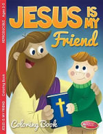 Coloring/Activity Book 2-5 Jesus Is My Friend - Warner Press