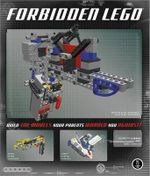 Forbidden Lego : Build the Models Your Parents Warned You Against! - Ulrik Pilegaard