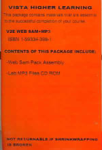 Vistas 2/E Online Student Activities Manual + MP3 : Intermediate - Donley Blanco