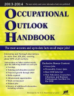 Occupational Outlook Handbook, 2012-2013 : Occupational Outlook Handbook (Cloth-Jist) - Kathryn Kraemer Troutman