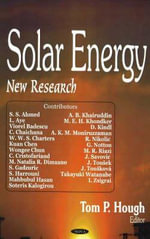 Solar Energy : New Research :  New Research