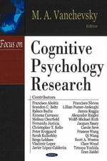 Focus on Cognitive Psychology Research