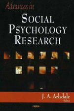 Advances in Social Psychology Research