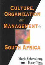 Culture, Organization, and Management in South Africa