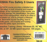 OSHA Fire Safety, 5 Users - Daniel Farb