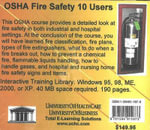 OSHA Fire Safety, 10 Users - Daniel Farb