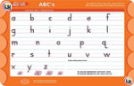 ABC's Wipe Off Activity Mat - Learning Horizons