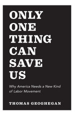 Only One Thing Can Save Us : Why America Needs a New Kind of Labor Movement - Thomas Geoghegan
