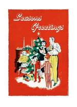 Singing Carols Around the Christmas Tree Christmas Cards - Laughing Elephant