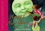 Happy New Year Postcard Book - Laughing Elephant