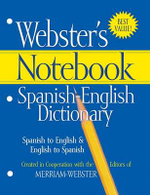 Webster's Notebook Spanish-English Dictionary